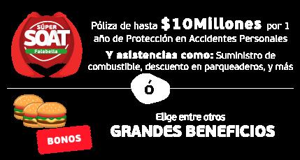 Beneficios Agencia de Seguros Falabella